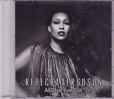 Rebecca Ferguson-All That Ive Got Promo cd single
