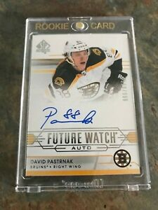 2014-15 SP Authentic Future Watch #282 DAVID PASTRNAK Rookie Card /999, Mint !!!