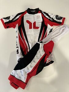 Young Life Primal cycling kit men's size small jersey and bib shorts
