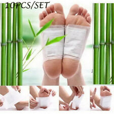 Useful 10*Detox Foot Pad Medicine Patch Detoxify Adhesive Toxins Maintain Health