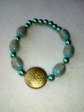 LOVELY BLUE AZTEC  HANDMADE BRACELET GIFT/MOTHERS DAY/BIRTHDAY/VALENTINES