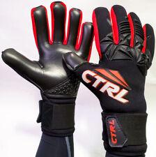 CTRL PRO Contact Foam Negative Cut Soccer Goalkeeper Goalie Gloves Black Red 9