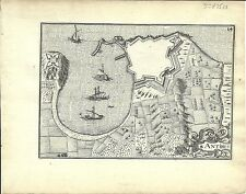 Antique map, Antibes