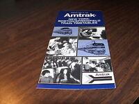 JUNE 1976 AMTRAK BOSTON/SPRINGFIELD-WASHINGTON PUBLIC TIMETABLE