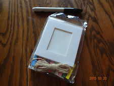 Rustic Photo Display- Country Cottage Cabin 10 Frames/Pegs & Twine- So Adorable