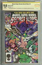 MARVEL SUPER HEROES SECRET WARS #6 SS CBCS 9.8 AUTO X4  ZECK SHOOTER NO CGC
