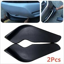 2X Front Shovel ABS Bumper spoiler Twist Decorative Scratch Resistant Wing 506