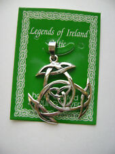 Sterling Silver Celtic Irish Knot Design Pendant New