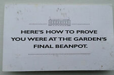1995 Final Boston Garden Beanpot Game Dunkin Donuts with 5 minutes Phone Card