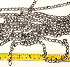 Parts for Bird Parrot Toys 5 Feet Nickel Plated Welded chain Size 2mm