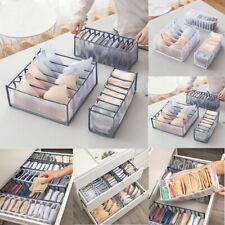 Underwear Bra Socks Container Storage Bag Foldable Drawer Dividers Storage Boxes