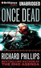 The Rho Agenda Inception: Once Dead 1 by Richard Phillips (2014, CD, Unabridged)