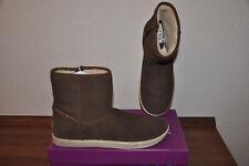 Botines botas botas de ugg talla 36/37 UK 5 J 24,5 marrón de cuero nuevo 139 €!!!