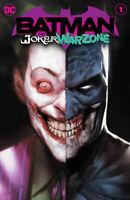 BATMAN THE JOKER WAR ZONE #1  DC COMICS