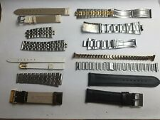 For Spares, Ladies & Mens (J34) Job Lot Of Watch Straps / Bracelets