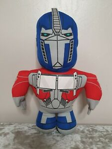 Transformers Optimus Prime Plush Soft Toy 13 inches tall.