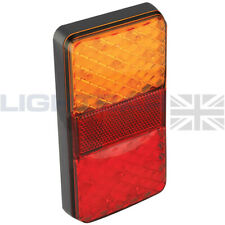 LED AUTOLAMPS 150BARE 12V REAR SLIM COMBINATION TAIL LAMP LIGHT TRAILER KIT CAR