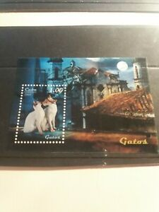 Cuba Stamp MiniSheet 2009 Cats. Imperforated