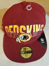 WASHINTON EDSKINS NFL CAP / HAT NEW ERA 59FIFTY SIZE 7 1/2 BRAND NEW NICE GIFT!