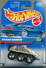 Hot Wheels 1997 Diecast Coll. #782 Radar Ranger Gold with Black Interior