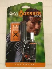 Gerber Bear Camping Grylls Survival Series Fire Starter + Emergency Whistle Kit