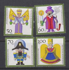 WEST GERMANY MNH STAMP DEUTSCHE BUNDESPOST 1990 CHRISTMAS SG 2333-2336