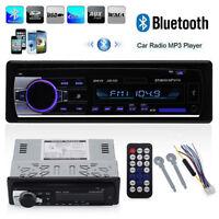 Autoradio MP3 USB Bluetooth Stéréo Fm Radio Récepteur MP3 Lecteur CD aux Sd