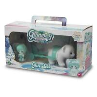 GLIMMIES POLARIS GLIMSLED MAGICAL POLAR BEAR FIGURE SLED PLAY SET NEW & SEALED