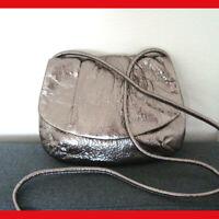 Fossil Leather Crossbody Bag Metallic SL2205
