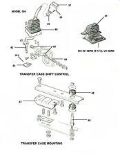 Dana 300 Shifter Lever Shaft & Bushings 1980-1986 Jeep CJ CJ5 CJ7 CJ8 5362034