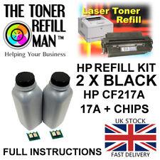 Toner Refill Kit For Use In HP LaserJet Pro MFP M130FW CF217A Black 17A