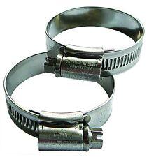 B12-00523 - 35mm Min. x45mm Max. Size - Worm Drive Hose Clip-Mild Stee
