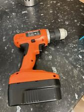 BLACK & DECKER CORDLESS 10MM DRILL 18V BATTERY & CHARGER