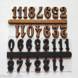 10 sets of 14 mm/15 mm Self Adhesive Numerals Arabic Numbers, Special Offer