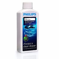 Philips HQ203 3 Pack Cool Breeze Scent Jet Clean Shaver Cleaning Solution 300ML