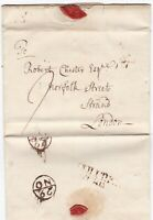 # 1769 COLCHESTER PMK & BISHOPMARK LETTER R? GOODHALL TO ROBERT CHESTER LONDON