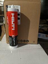 12 Tubes Hilti Fs-One Max 2101531 High performance fire caulk (10.1 Fl Oz)