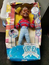 "Vintage Hasbro Family Matters URKEL Talking Figure New Damaged Box 17-1/2"""