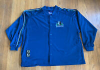 Minnesota Timberwolves Vintage 90's Pro Player Authentic Warmup Size XXL Rare