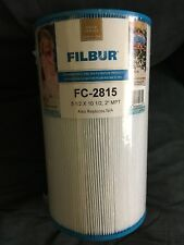 "FILBUR POOL SPA FILTER FC-2815 5 1/2 X 10 1/2, 2"" MPT"