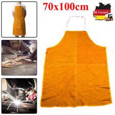 Schweißerschürze Zweischichtiges Rindsleder Schutzkleidung Lederschürze 70x100cm