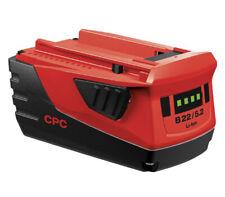 Hilti 22V / 18V 5.2Ah Battery Pack B22/5.2 Li-Ion 2136398 - 22 Volts