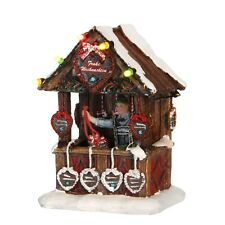 Luville Gingerbread Stand, Christmas Village, Christmas Decoration,
