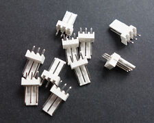 10Pcs White 3-Pin Male Fan Connector Housing Plug 2.54mm Pitch PC Mod Molex New