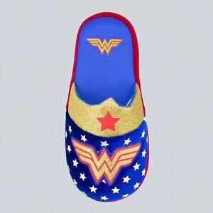 NEW! Girl's Wonder Woman Slippers