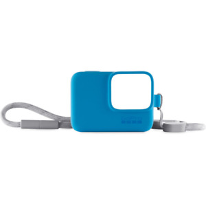GoPro Sleeve & Lanyard For HERO 7, 6, 5 And HERO 2018 Blue Offical Accessory
