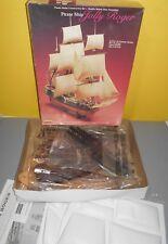 NEW 1990 Pirate Ship Jolly Roger Lindberg Plastic Model Kit 70874 Sailing Boat