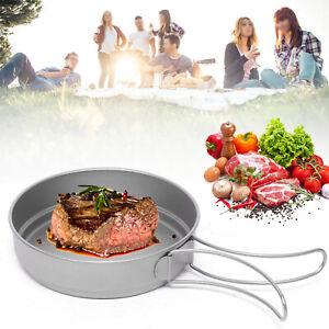 Mini Titan Bratpfanne Outdoor Portable Picknick Hause Topf Kochgeschirr 500ml