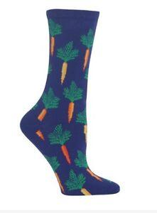 Hot Sox Women's Carrots Socks Blue