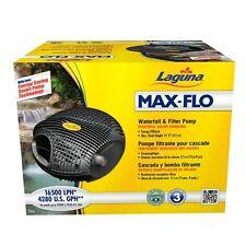 Laguna Max-Flo 4280gph Waterfall & Filter Pump , pt-8256 New Version